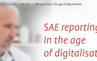 eSAE reporting workflow - the SAE reporting in times of digitalisation